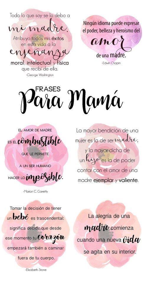 Frases Para Madres 1001 Frases De La Vida Pinterest Frases