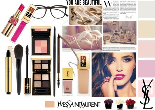"""YSL"" by fatal-poison-4-u ❤ liked on Polyvore"