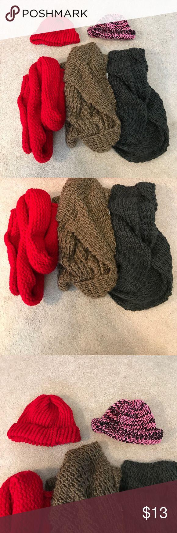 Winter scarves and hats bundle Winter scarves and hats bundle Old Navy Accessories Scarves & Wraps
