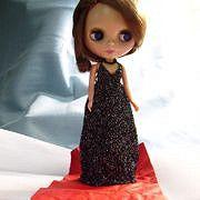 A sweet Halter-Neck dress for Blythe dolls.