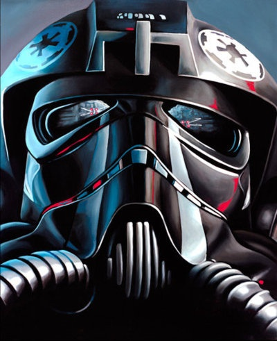 TIE fighter pilot reflections