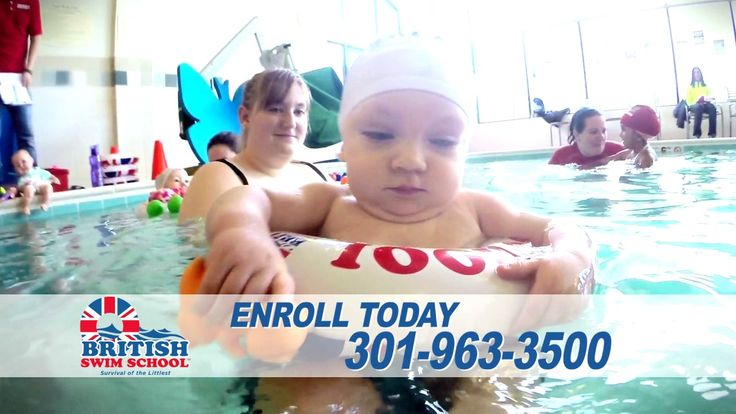 British Swim School Central Maryland Infant and Toddler Swim Lessons