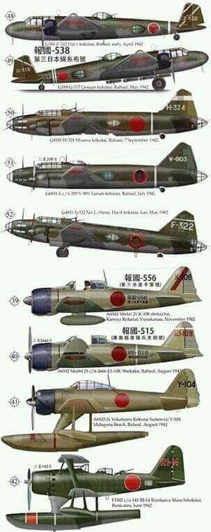 WW2 - Axis Aircraft