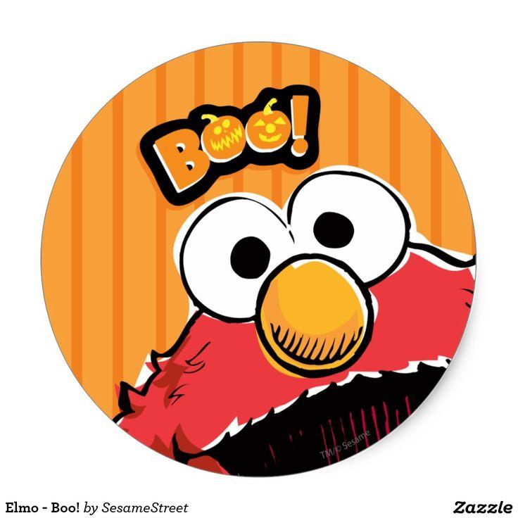 Elmo - Boo! #sticker