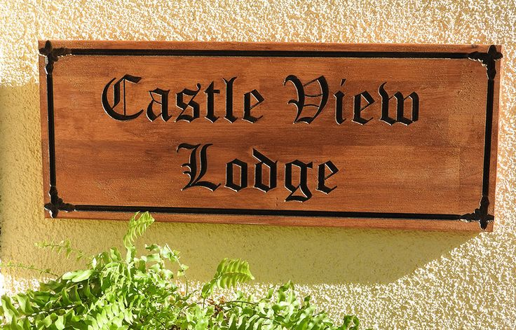 Personalised House Sign, Carved wooden sign, hardwood farm or estate sign, new house gift, custom made, old English style house sign by MikesFineDesigns on Etsy