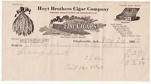 Holt Cigar Company  Clarksville Arkansas  (Made from locally grown tobacco one wonders?)