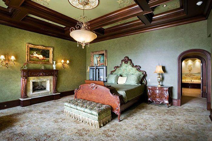 Franzosische Luxus Einrichtung Barock Design. weiße stühle im ...