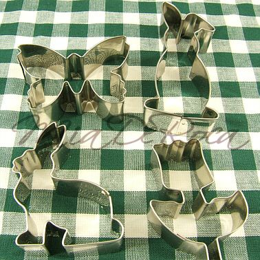 Cookie Cutters Spring, perfect for Easter - MiaDeRoca
