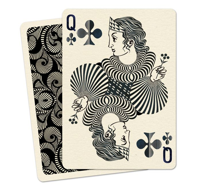 ROYAL OPTIK Playing Card Deck by Uusi — Kickstarter. Not a tarot deck, but gorgeous artwork. They apparently plan to sell these retail, but while the Kickstarter's going on, you can get a deck for below retail.
