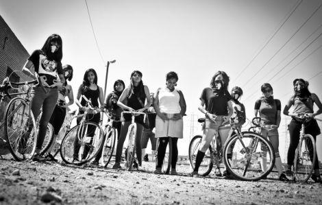 Ovarian psycos! This all-female bike posse kicks major butt