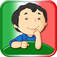 Le Mie Parole: Fun learning Italian for kids. iPad, iPhone app by Kiddystarter #KiddyWords