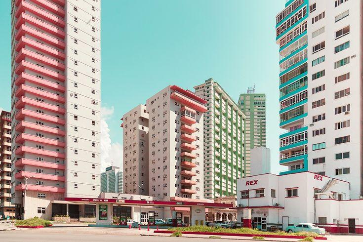 Colourful Cuba: Photographer Salvador Cueva captures candy hued architecture | Creative Boom