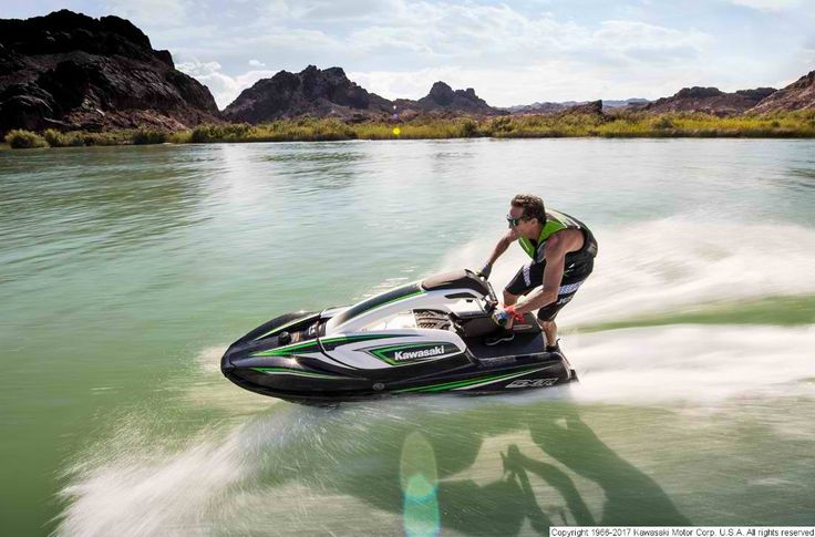 For over 40 years, Kawasaki Jet Ski® watercraft have supplied high-powered thrills on the water and the new Jet Ski SX-R is a continuation of the legacy.#Kawasaki #PWC #JS1500AHF #PetesCycle