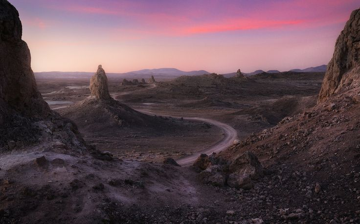 Window to Mars  One of the places I would love to go back for more images. Trona Pinnacles CA  [OC] [1600996] #reddit