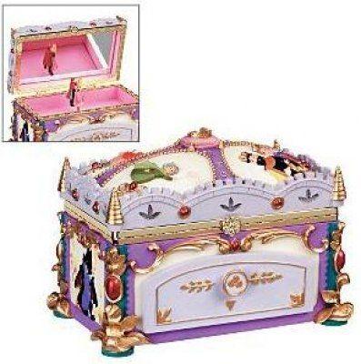 Sleeping Beauty deluxe musical jewelry box
