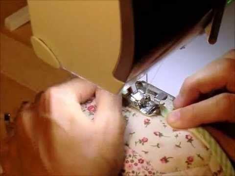 Cucito Creativo: Tutorial Cilindri by Angeli di Pezza (cordoncini, sbiechi, occhielli) - YouTube