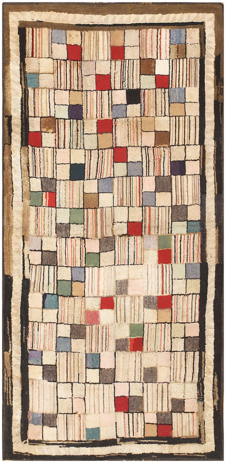 mosaic art antique square design by geometric optimal nazmiyal rug hooked antqiue size deco american rugs