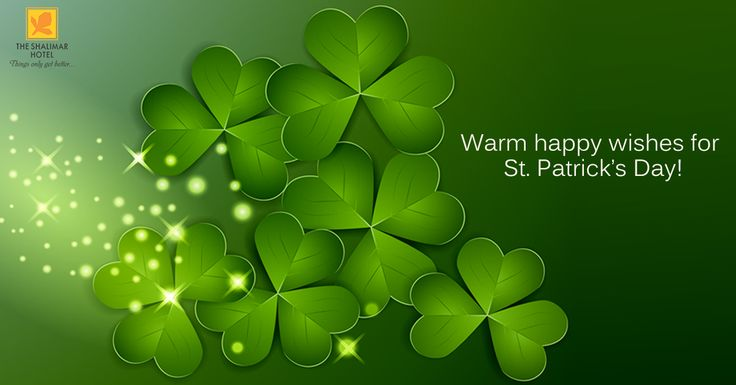 May the good blessings outnumber the Shamrocks that grow.....here's to faith, hope, love & luck. Happy St. Patrick's Day!