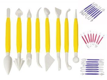 8pc Flower Modelling Artist Tool Set
