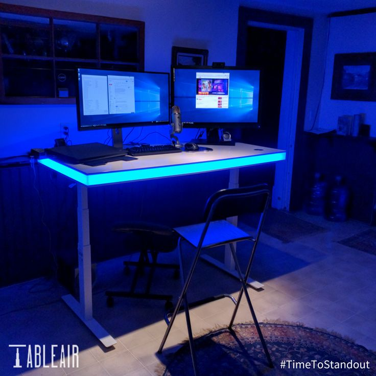 ... So Many Home Offices Are Dull, Lifeless Places That You Wouldnu0027t Want  To Spend 10 Minutes A Day? Just Look At This Home Office Setup With TableAir  As A ...