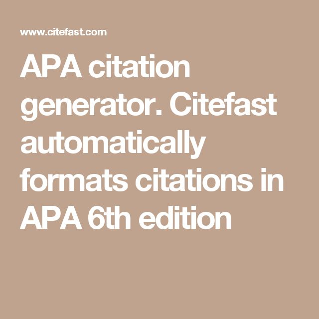 apa style 6th edition citation Apa 6th edition formatting guide for baker college many books to help with apa style citation manual of the american psychological association 6th ed.