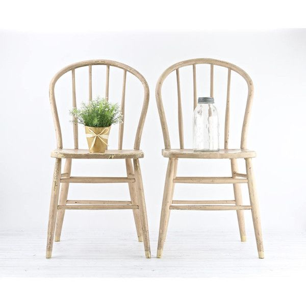 Vintage Chairs Farmhouse Dining Chairs Antique Spindle ...