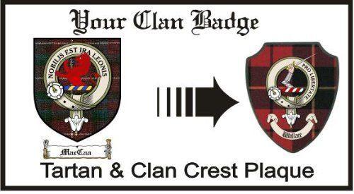 Maccaa Clan Stuart Clan Badge Plaque . $29.99