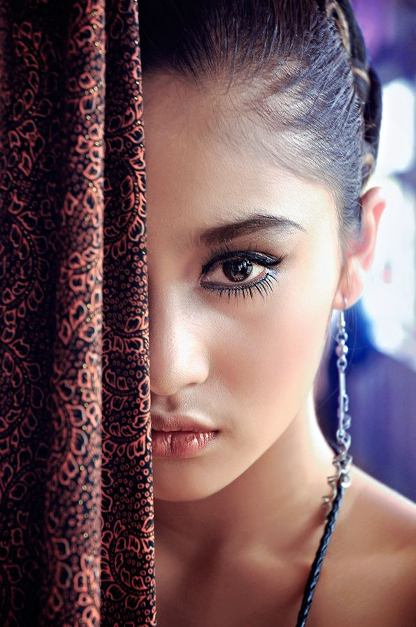 Beauty face of indonesian women by yopi ari yusman