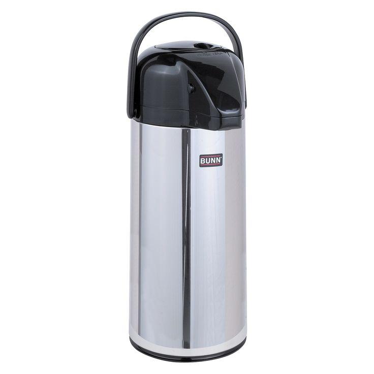 Bunn Push-Button 2.2 L Coffee Dispenser, Silver