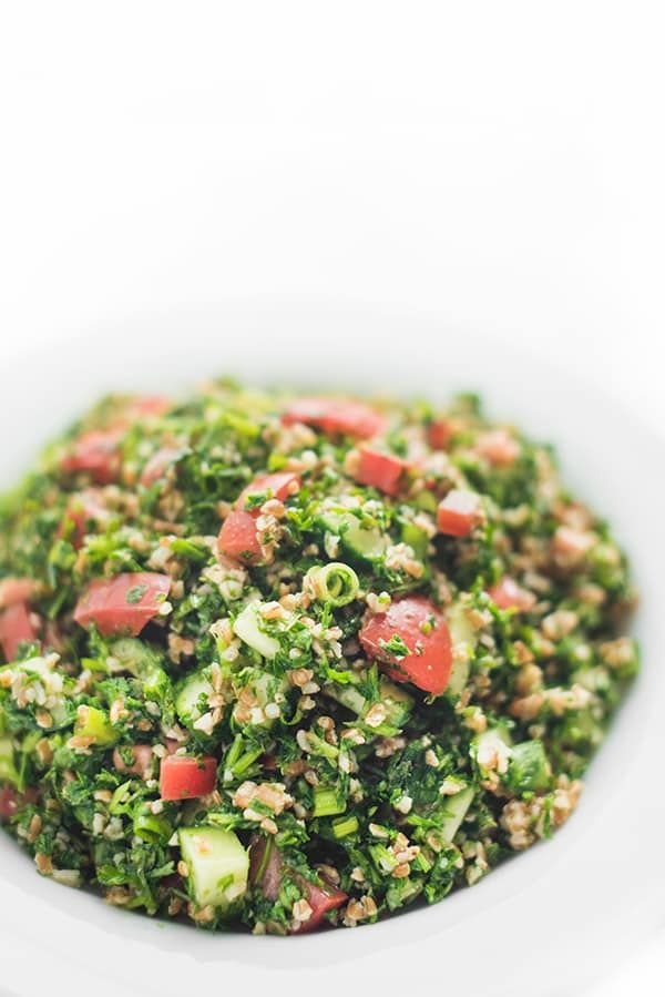 Authentic Lebanese Tabbouleh