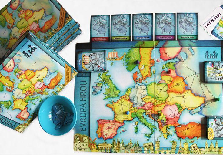 EVROPA HROU: Didaktická společenská hra