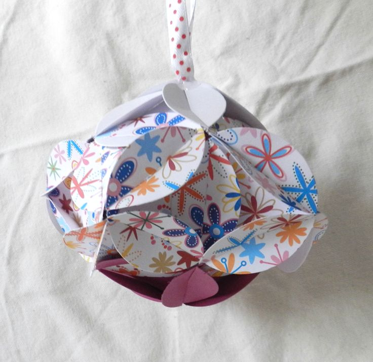 Dekoratiuni: Glob origami 2