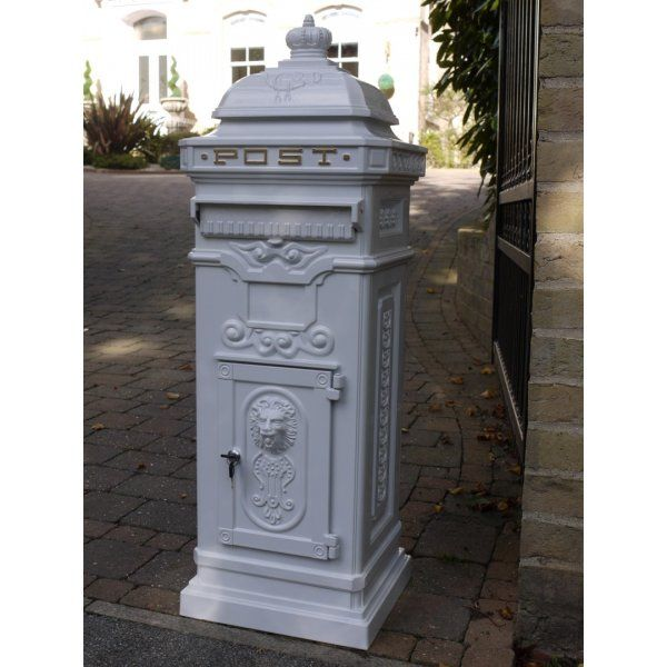 White Wedding Post Box: 33 Best Mailboxes Images On Pinterest