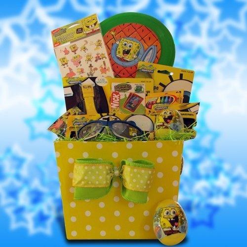 242 best easter images on pinterest happy easter sponge bob easter gift baskets for children by gift basket 4 kids http negle Images