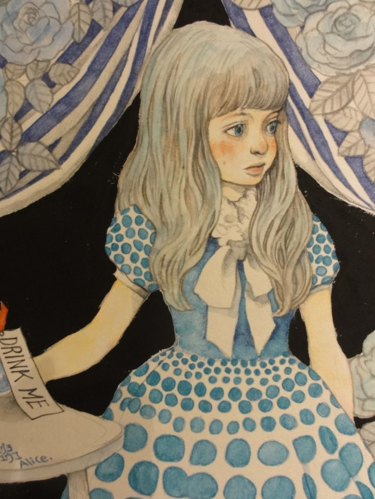 Alice's Wonderland Ch. 1 Down The Rabbit Hole  Alice In Wonderland -yuko higuchi