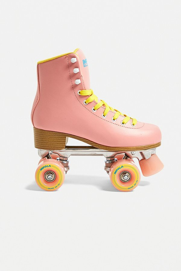 Impala Rollerskates Patins A Roulettes Avec 4 Roues Roses Roller Skating Outfits Quad Roller Skates Roller Skates