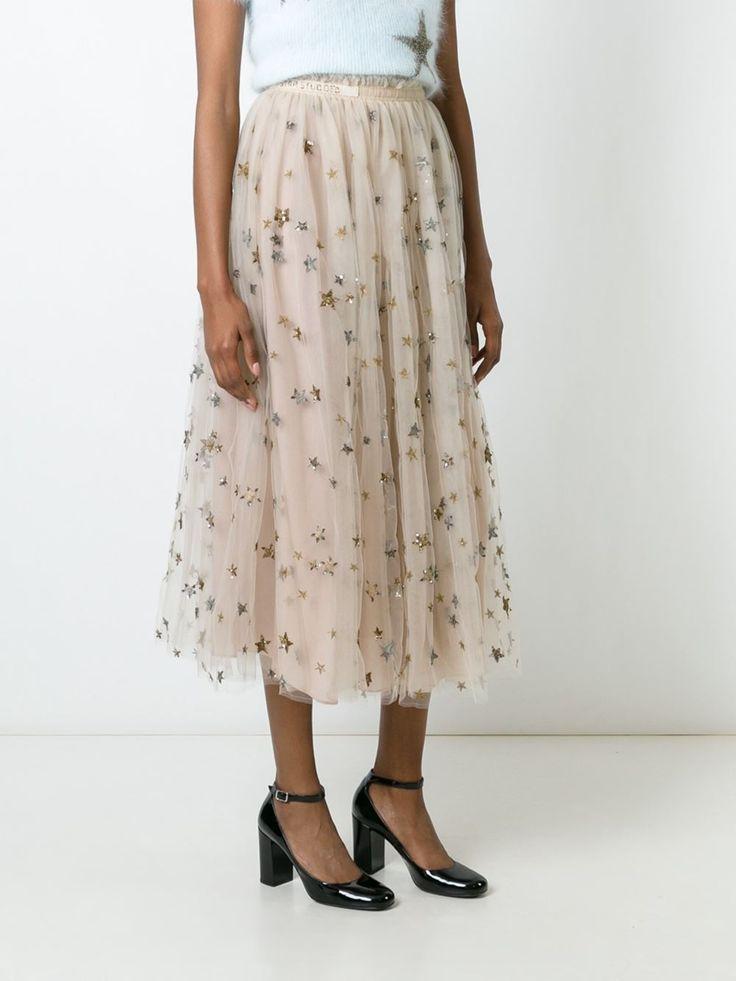 Valentino sequined star skirt