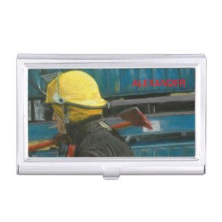 Carry-charts of Visit accomplished Duty Business Card Case