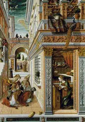 proof of ancient Alien visit to earth? see UFO in sky in Renaissance Painting!: