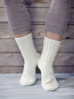 Perusvillasukat Novita Nalle | Novita knits