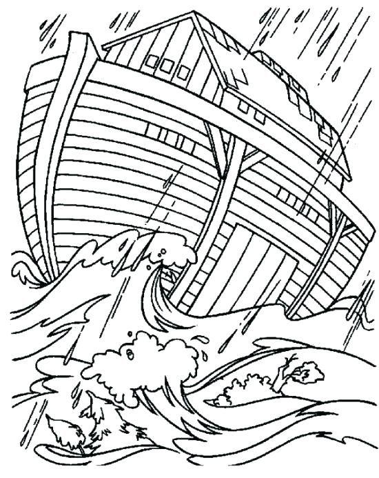 Noahs Ark Coloring Pages Noah S Ark Bible Bible Coloring Pages
