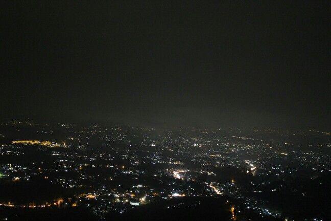 worderfull city light in puncak, bogor