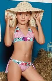 Resultado de imagen para vestidos de baño de dos piezas de moda para niñas de 12 años