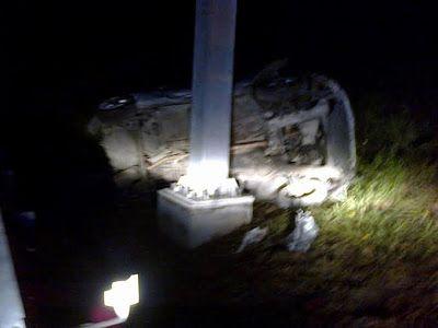 O Palhetas na Foz: Copeiro/Paião: Carro caiu de ponte para a A17 caus...