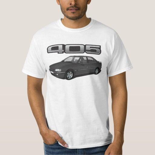 Peugeot 405 with wing + model badge, black, DIY  #peugeot #peugeot405 #sri #automobile, #car #t-shirt, #print #europe #france #black