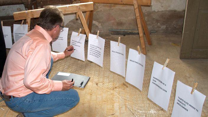 Die Arbeit während der vier intensiven und visionären Seminartage entfaltete sich draußen wie drinnen, im Keller wie im Aussichtsturm und natürlich auch in den stimmungsvollen Sälen auf Gut Gyldenholm. Überall wurden neue Ideen für das kommende Jahr geboren und in konkrete Taten umgesetzt.