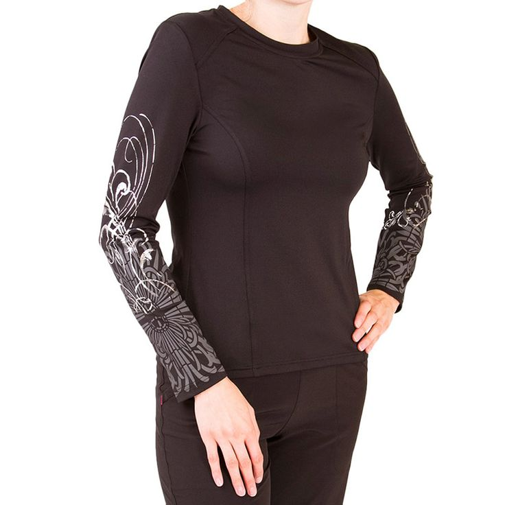 Smitten Women's Fresh Ink Long Sleeve T-Shirt | allheart.com