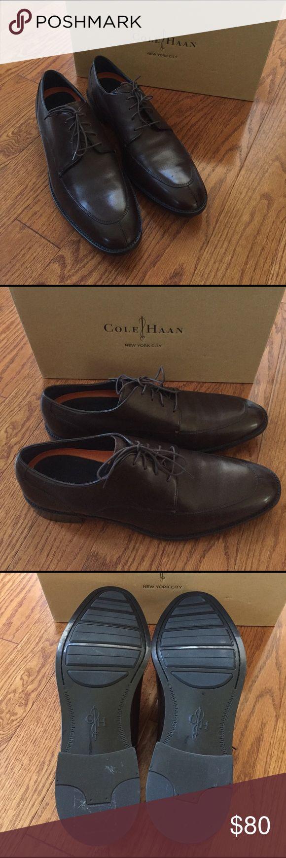 Cole Haan dress shoes NWOT Beautiful Cole Haan men's dress shoe. Deep chocolate brown. NWOT comes in original box. Cole Haan Shoes