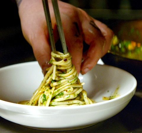 Pasta Aglio e Olio for Scarlett Johansson from the Movie 'Chef'