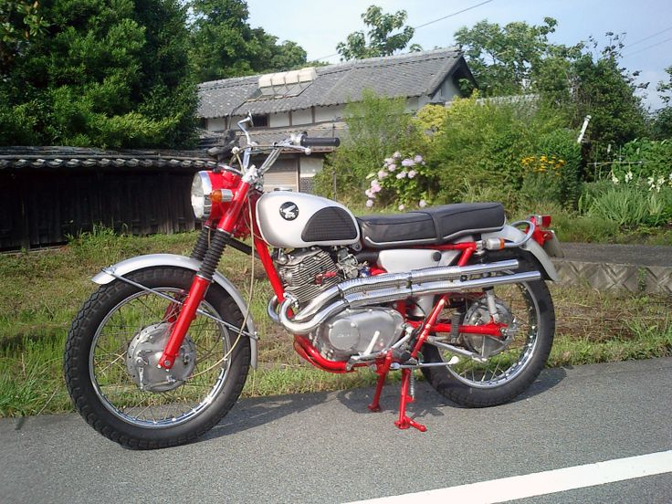best images about motorbike scrambler motorcycle 1965 honda cl72